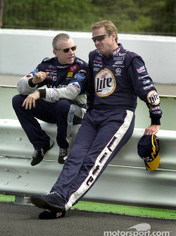 Rusty Wallace y Mark Martin