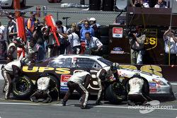 Dale Jarrett pits for service