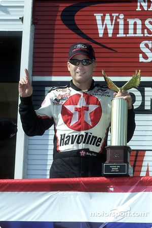 Ricky Rudd scored his first win since joining the Robert Yates Racing team at the start of the 2000 season