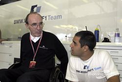 Frank Williams et Juan Pablo Montoya