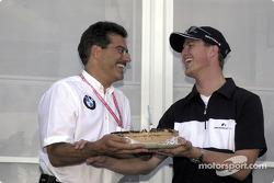 Mario Theissen y Ralf Schumacher