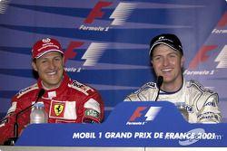 Conferencia de prensa: Michael y Ralf Schumacher