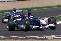 Kimi Raikkonen y Jean Alesi