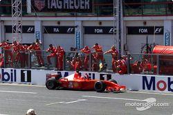 El triunfo 50 en Grandes Premios para Michael Schumacher