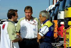 Jacques Villeneuve, Craig Pollock y Pierre Dupasquier