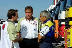 Jacques Villeneuve, Craig Pollock and Pierre Dupasquier