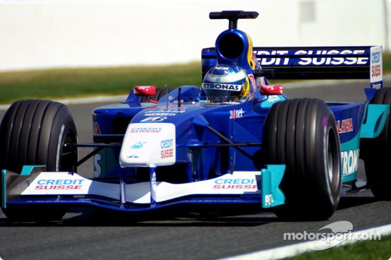 Nick Heidfeld: Sauber (2001-2003 y 2006-2010)