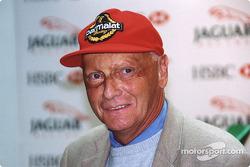 Jaguar Racing y HSBC renuevan su patrocinador: Niki Lauda