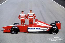 Allan McNish and Mika Salo