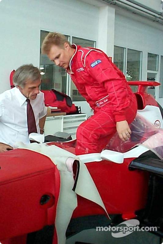 Gustav Brunner et Mika Salo