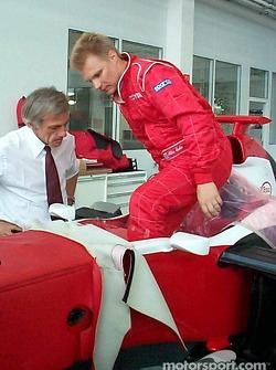 Gustav Brunner and Mika Salo