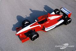 Auto de pruebas del Toyota F1