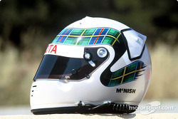 Casque d'Allan McNish