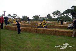 Honda lawnmower race: Heinz-Harald Frentzen