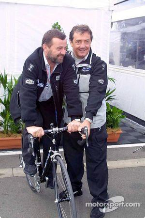 Paul Stoddard et Giancarlo Minardi