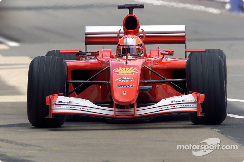 2001 British GP, Ferrari F2001