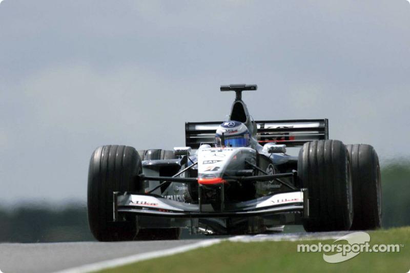 2001: Mika Hakkinen, McLaren-Mercedes MP4/16