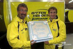 Joyeux anniversaire Jarno : Eddie Jordan et Jarno Trulli