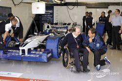 Frank Williams et Gerhard Berger
