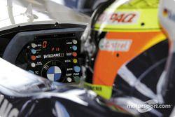 Ralf Schumacher dans son bureau