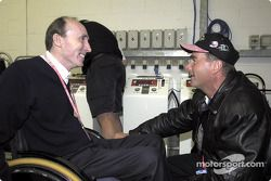 Frank Williams and Nigel Mansell