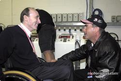 Frank Williams y Nigel Mansell