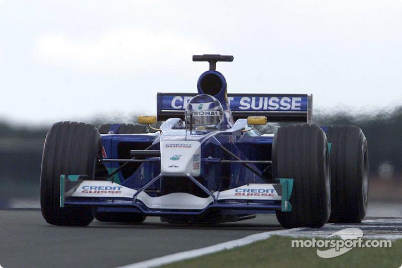 2001 : Kimi Räikkönen, Sauber C20