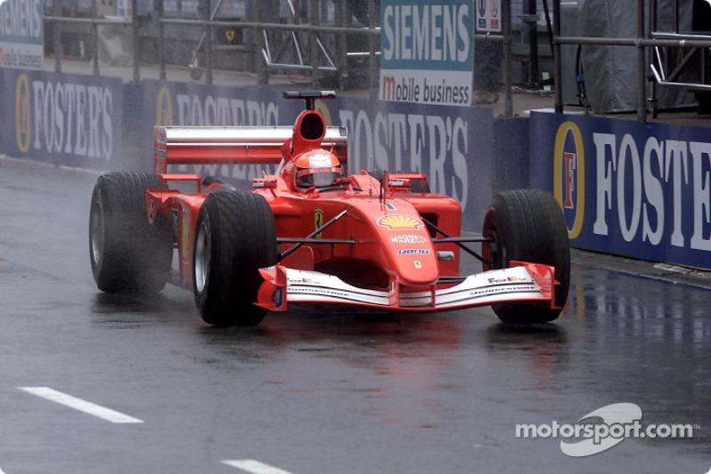 40. Gran Bretaña 2001, Ferrari F2001
