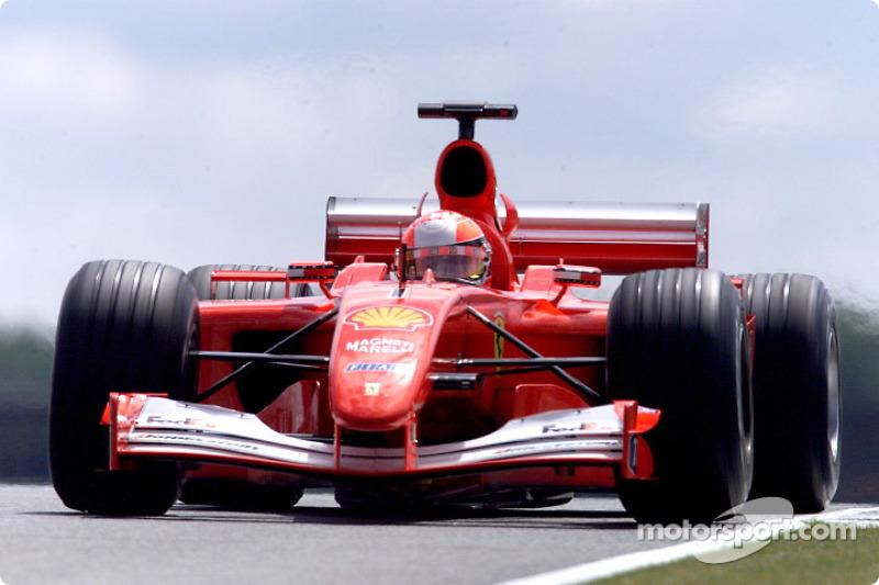 #40 GP de Grande-Bretagne 2001 (Ferrari F2001)