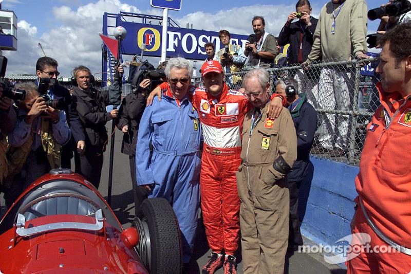 Michael Schumacher y el 375 F1