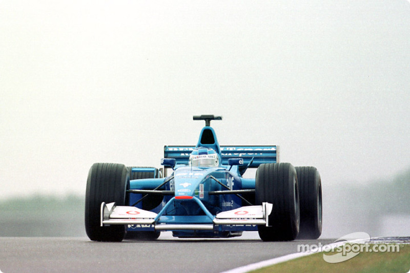 Giancarlo Fisichella en el GP de Gran Bretaña