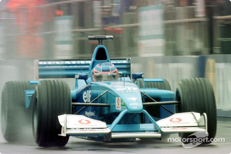 Jenson Button en el GP de Gran Bretaña