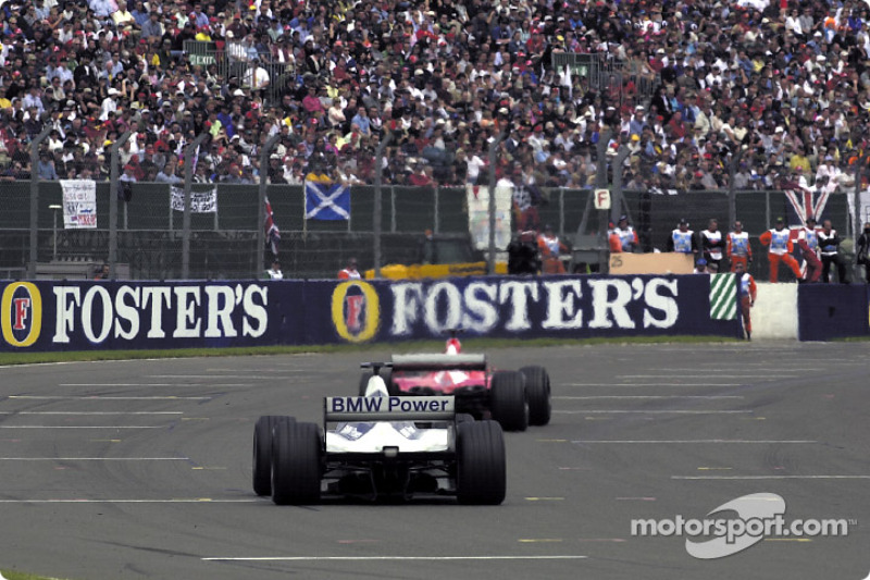 Rubens Barrichello ve Juan Pablo Montoya