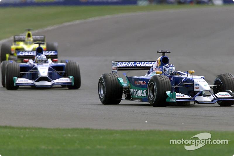 Kimi Raikkonen y Nick Heidfeld