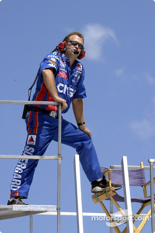 Frankie Stoddard, crew chief for driver Jeff Burton