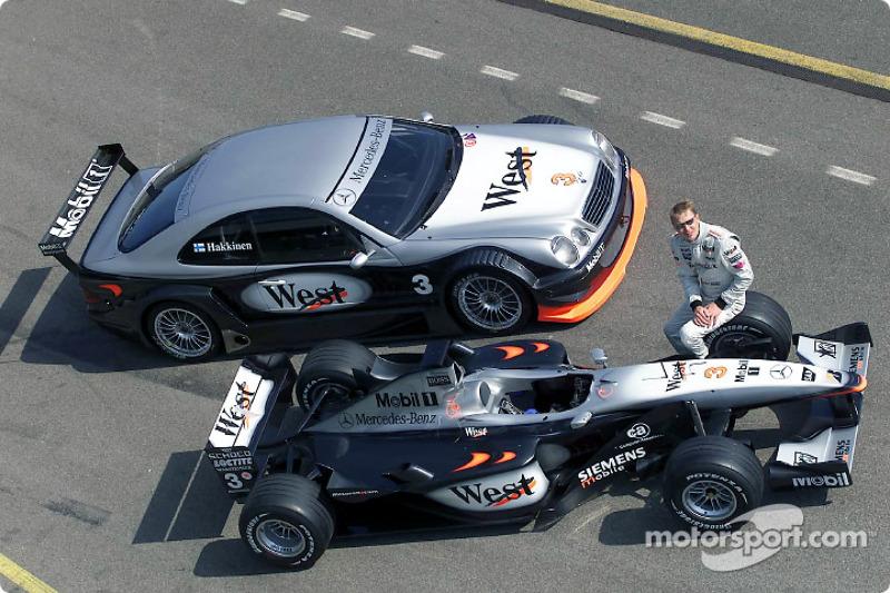 Mika Hakkinen completó 31 vueltas con el AMG Mercedes CLK-DTM en la cuadra de West McLaren Mercedes en Brno