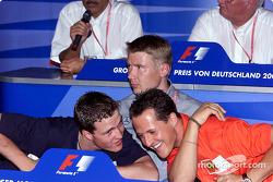 Conferencia de prensa FIA del jueves: Ralf Schumacher, Michael Schumacher y Mika Hakkinen