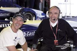 Ralf Schumacher y Frank Williams