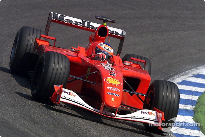 2001: Ferrari, 3º no campeonato (56 pts)