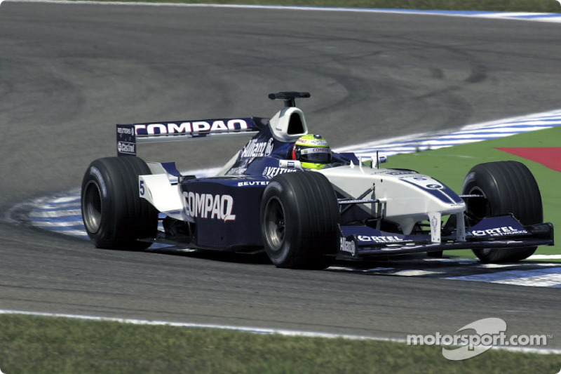 2001: Ralf Schumacher, Williams FW23