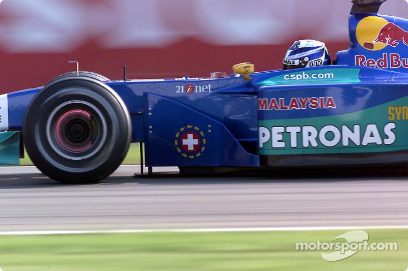 2001, Sauber: Nick Heidfeld en Kimi Raikkonen