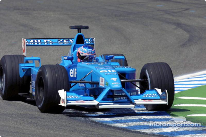 Jenson Button en el GP de Alemania