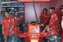 Garage de Ferrari
