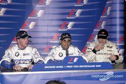 Conferencia de prensa FIA del sábado: Ralf Schumacher, Juan Pablo Montoya y Mika Hakkinen