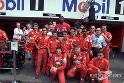 Shaquille O'Neal y el Equipo Ferrari