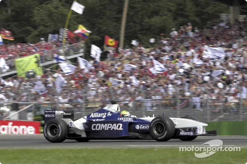 2001 (Hockenheim): Ralf Schumacher (Williams-BMW FW23)