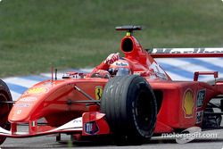 Rubens Barrichello, Ferrari F2001