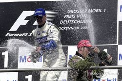 Ralf Schumacher and Jacques Villeneuve