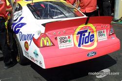 El auto de Ricky Craven