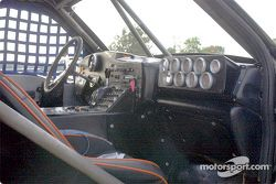 Interior of the pace truck